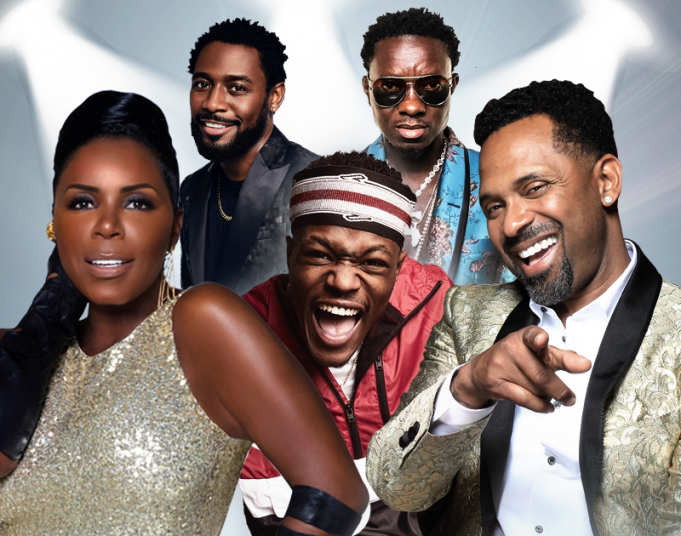 In Real Life Comedy Tour: Mike Epps, Michael Blackson, DC Young Fly, Karlous Miller & Kountry Wayne at Pensacola Bay Center