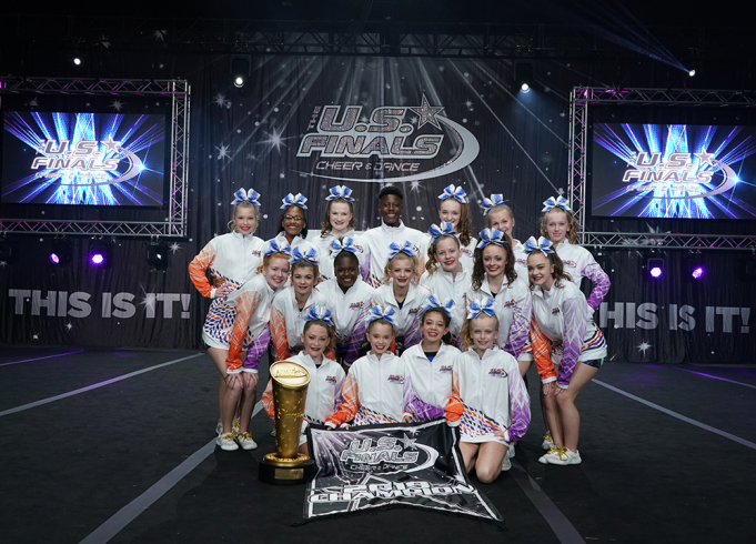The US Finals: Cheer & Dance Competition - Saturday at Pensacola Bay Center