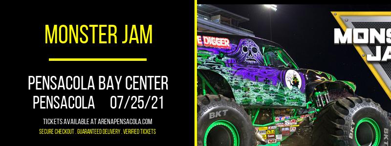 Monster Jam at Pensacola Bay Center