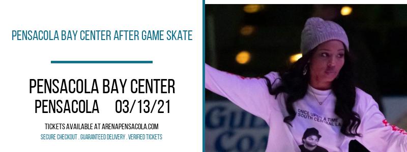 Pensacola Bay Center After Game Skate at Pensacola Bay Center