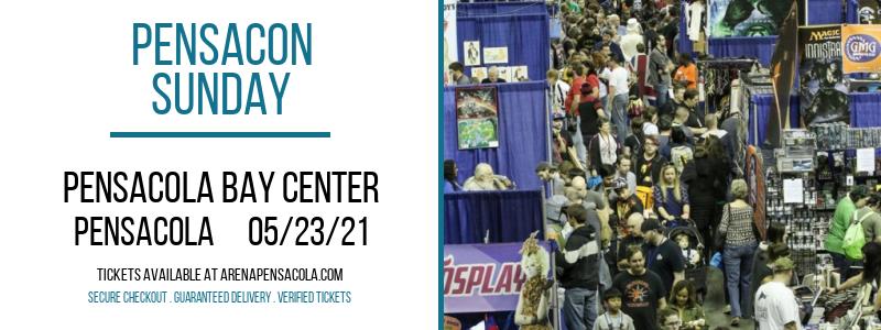 Pensacon - Sunday at Pensacola Bay Center